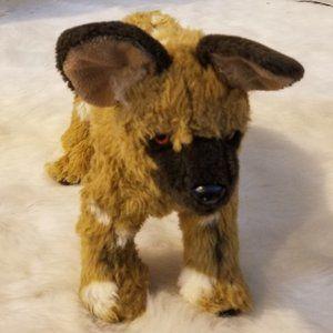 Fiesta Standing Wild Dog Stuffed Animal